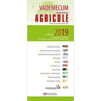 Vademecum de l'entreprise agricole - ouvrage collectif - 2019