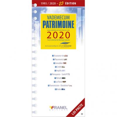 Vademecum du patrimoine 2020 - Véronique Couturier