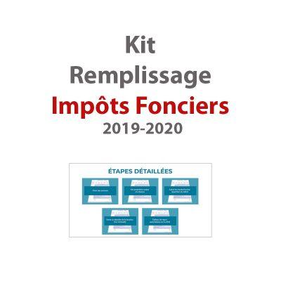 Kit impots fonciers 2019-2020